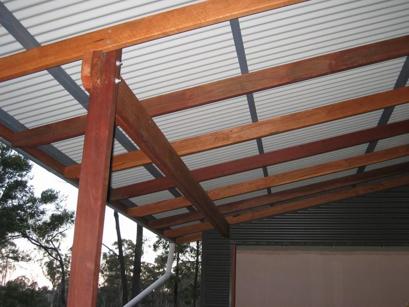 Verandah Roof Framing Toby Whitelaw
