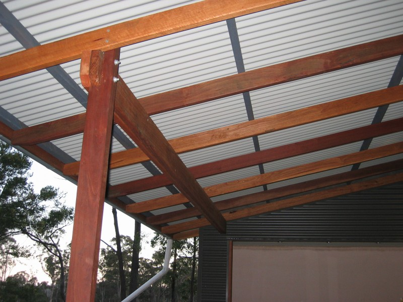 Verandah Roof Framing Toby Whitelaw