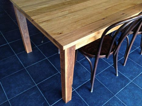 Recycled Hardwood Dining Table