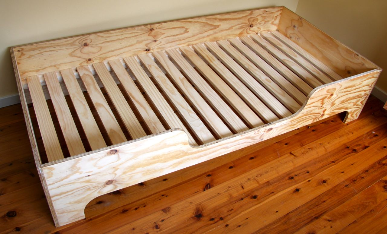 Plywood Kids Bed Toby Whitelaw